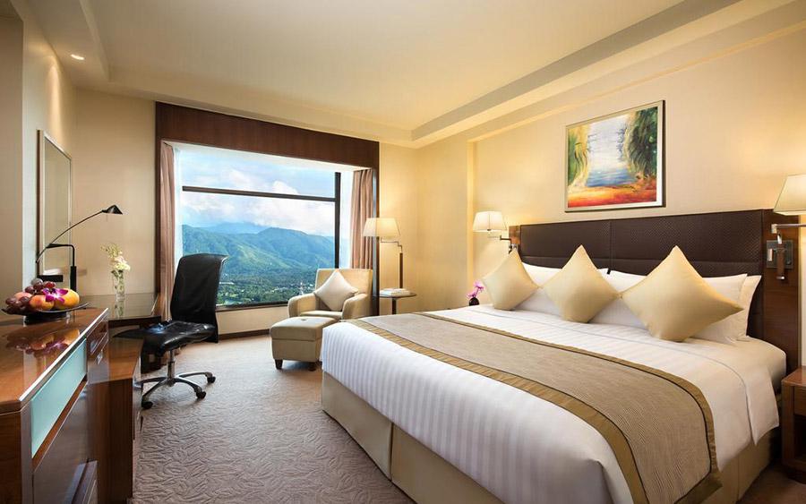 现代风格 商务酒店大床房家具配套